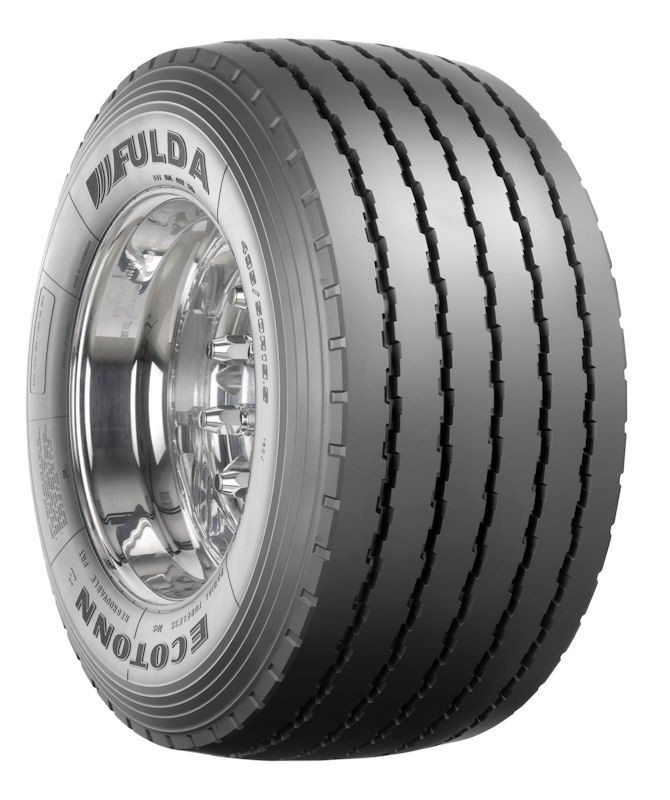 The size 435/50 R 19.5 tyre is aimed at mega trailer operators