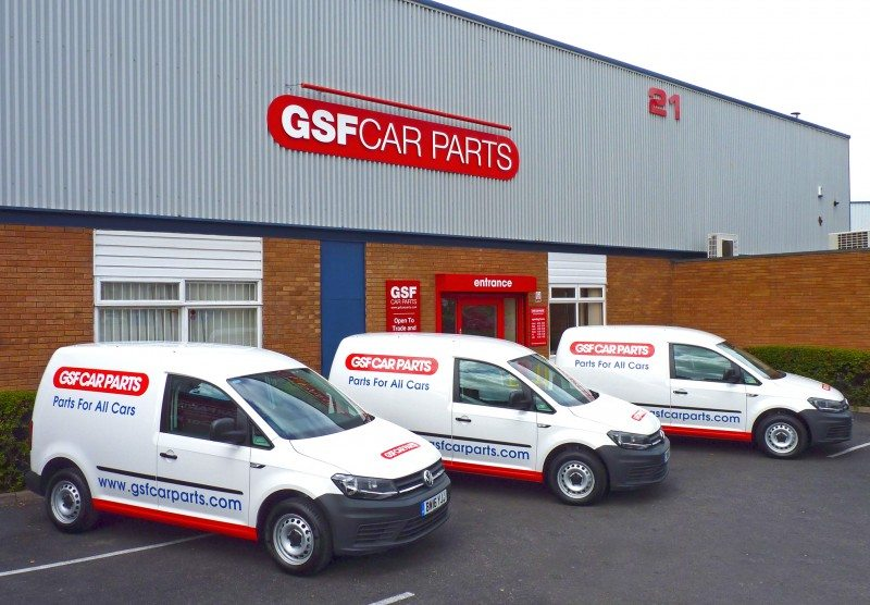 GSF Car Parts has invested in 10 new VW Caddys
