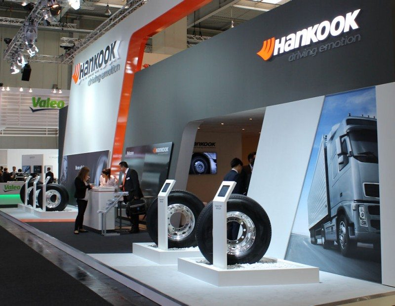 IAA launch for new Hankook truck/bus tyres