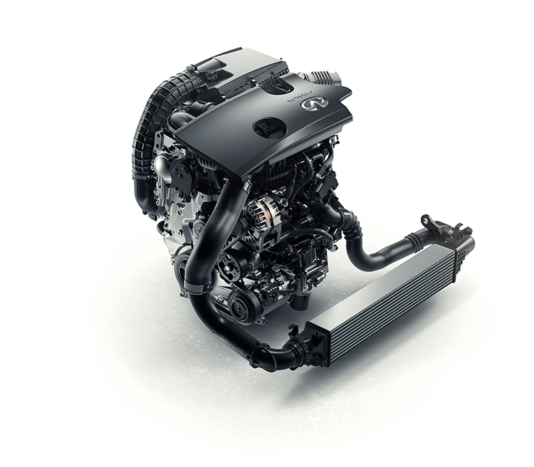 More than 20 years in development, Infiniti's new four-cylinder turbocharged gasoline VC-T engine