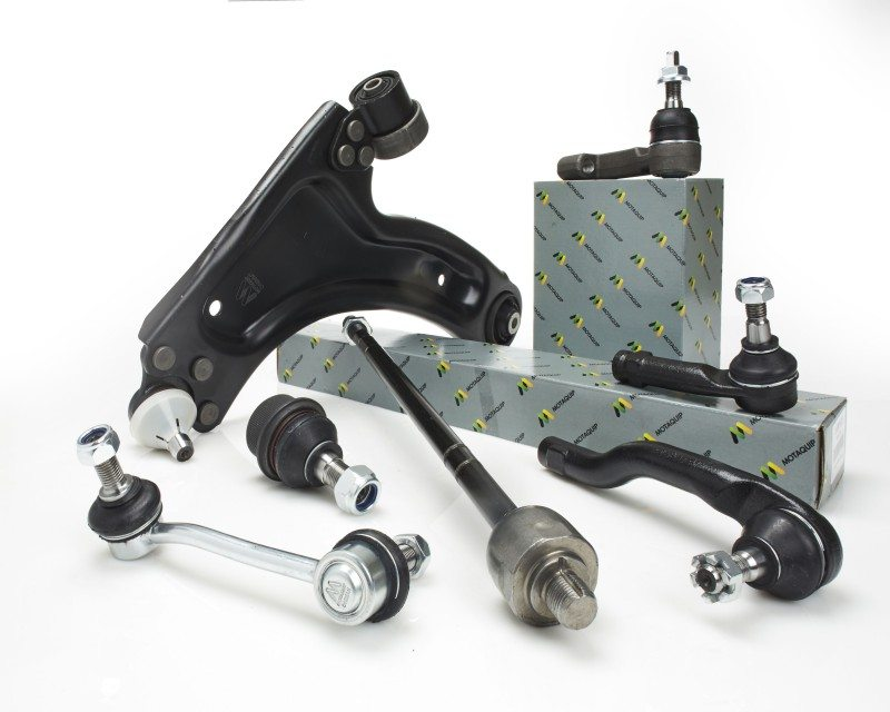 Motaquip's steering and suspension range includes 4,000 part numbers