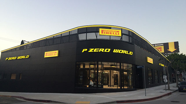 With P Zero World, Pirelli offers brand experience to discerning customers