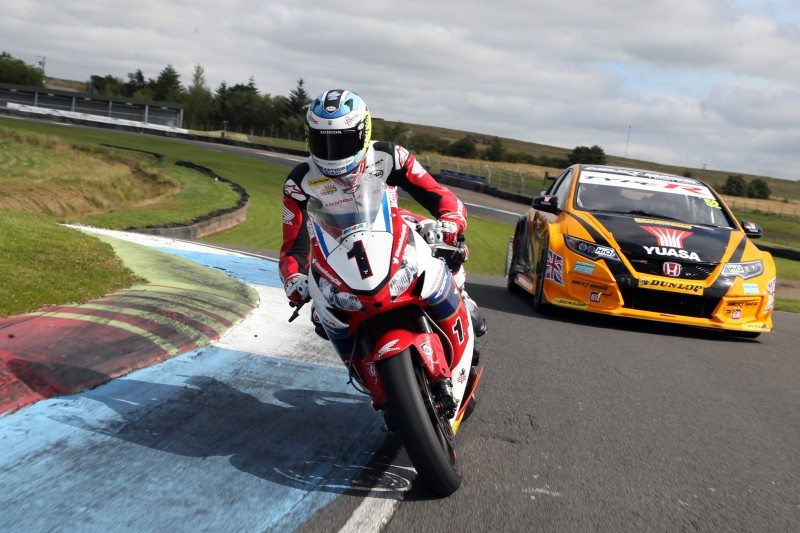 Gordon Shedden and John McGuinness swap rides – though both retained Dunlop tyres