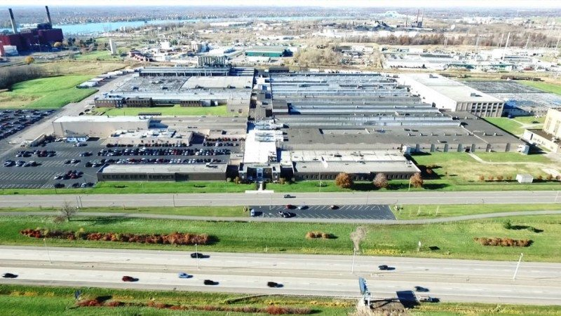 The Tonawanda plant produces 4.6 Million car, light truck, truck and motorcycle tyres a year