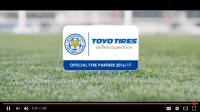 Toyo Tires produces Leicester City Football supporter video