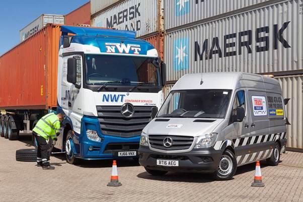 Truckforce buys 57 Mercedes-Benz Sprinters