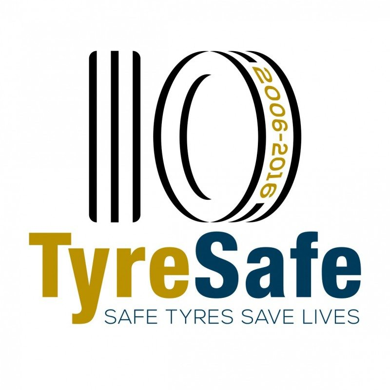 TyreSafe now has full charity status having achieved this milestone in its tenth year