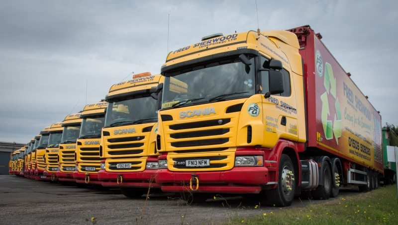 The Fred Sherwood Group reports significant improvements in vehicle downtime since selecting Vacu-Lug to manage its fleet tyre requirements.