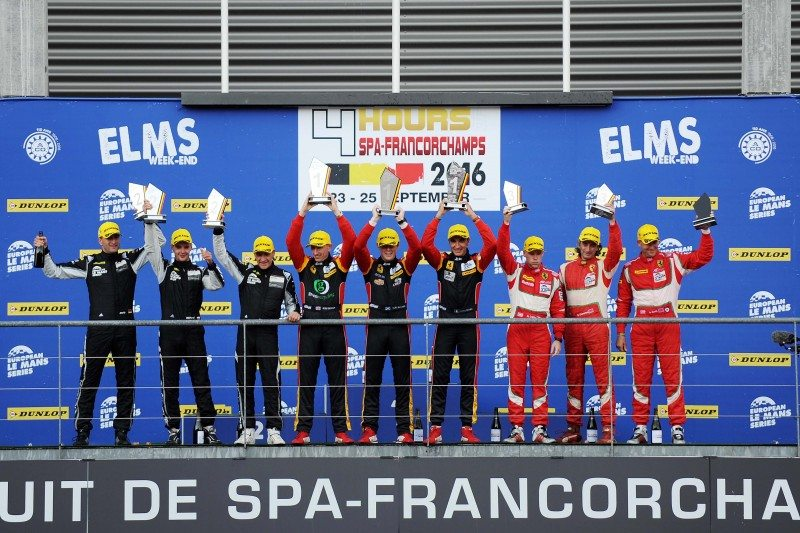Dunlop maintains its 100% podium record in the ELMS at Spa-Francorchamps