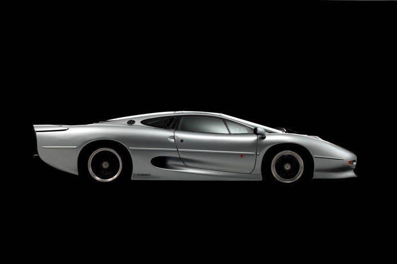 Bridgestone developing new tyres for Jaguar XJ220