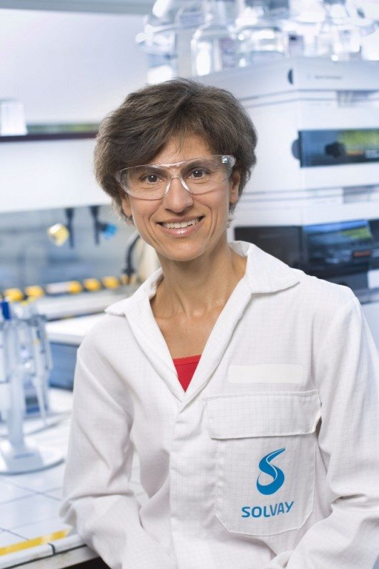 Solvay scientist Sylvaine Neveu has won the Irène Joliot-Curie 2016 award for work on energy saving tyre technology