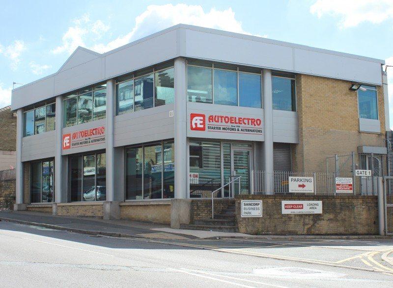 Autoelectro's HQ in Bradford