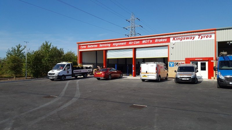 Kingsway Tyres' new autocentre in Retford