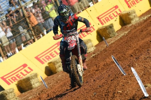 Tim Gajser is the new motocross world champion in MXGP class