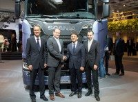 Hankook now supplying tyres to third major European truck maker