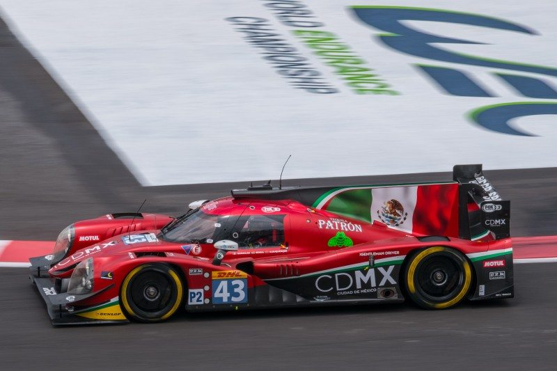Dunlop teams' success in Mexico City WEC