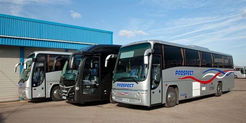 Michelin's technical team carried out site visits to determine correct tyre pressures for Prospect Coaches' different vehicles