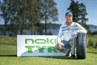 Nokian sponsors Fin golfer Mikko Ilonen