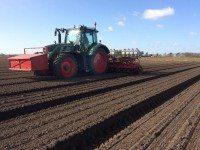 Sherwood Farming benefits from Michelin SprayBib and YieldBib tyres