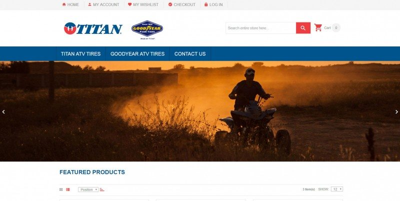 Titan, Goodyear e-commerce site goes live in USA