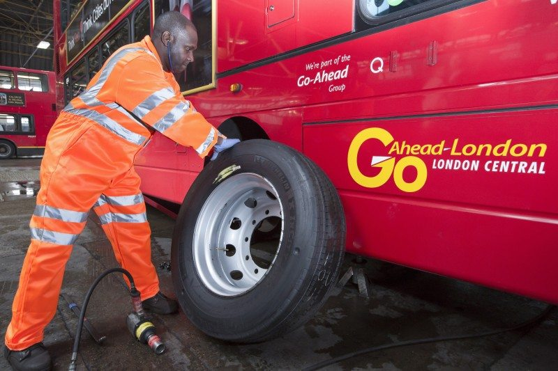 Go-Ahead has signed a new contract with Michelin