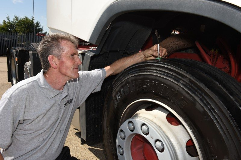Howard Tenens could save £133,246.00 on fuel each year by running on the Bridgstone Ecopia tyres