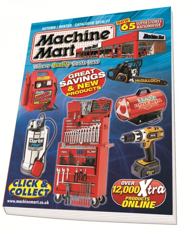 Machine Mart Autumn/Winter catalogue now available