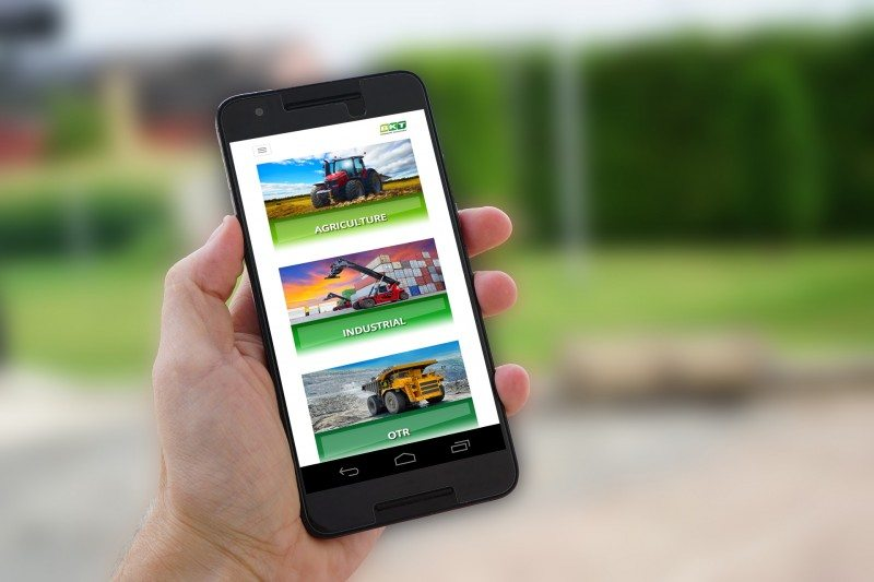 BKT launches mobile website