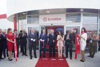 Brembo inaugurates Mexico brake plant and iron foundry