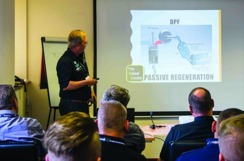 Randstad Ltd has successfully held a three-day national training course hosted by Gary Wood of The Diesel Doctor