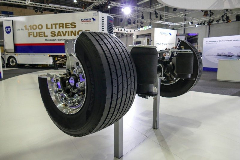 Hankook Tire's agreement with Schmitz Cargobull has been extended until 2019