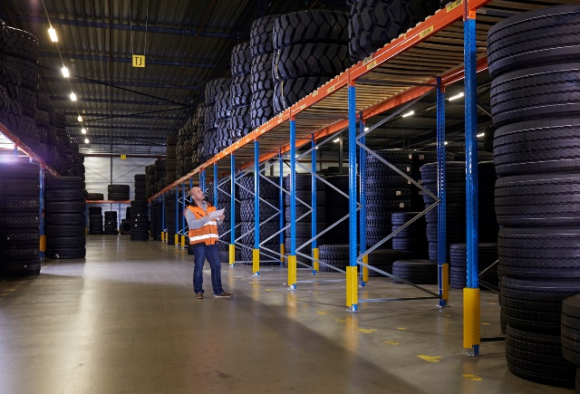 The storage rack increases Heuver's warehouse capacity by 3,000m²