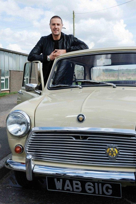 Stars In Their Cars host Paddy McGuinness
