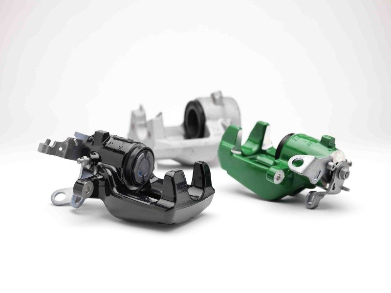 Brake Engineering's new coloured calipers range