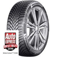 Auto Express tyre test – another win for Continental's WinterContact TS 860