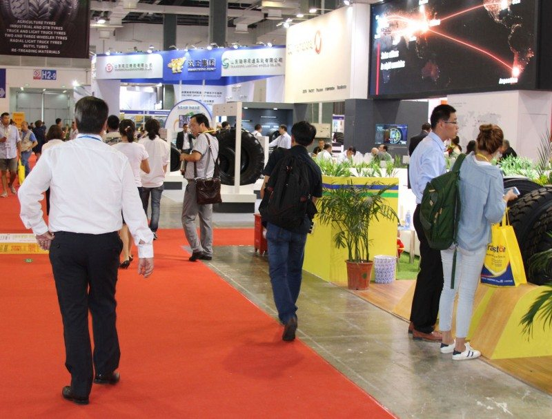 The two CITExpo exhibition halls were well-visited