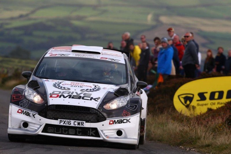 The Dmack team of Elfyn Evans and Craig Parry rounded off a championship winning season on Rally Isle of Man