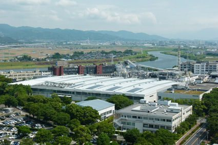 The Kurume plant was Bridgestone's first radial aircraft tyre production facility