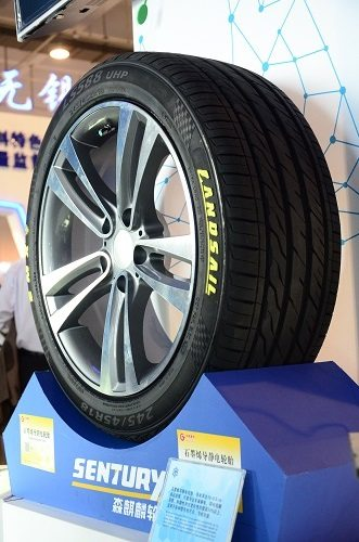 Landsail is claiming some amazing performance enhancements due the additional graphene in its 245/45 R18 LS588@RSC electrostatic tyre