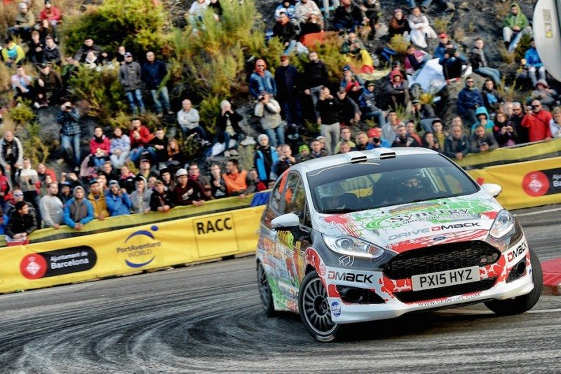 Osian Pryce and Dale Furniss finished fifth in Spain, clinching the Drive Dmack Fiesta Trophy
