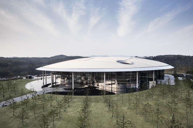 The Hankook Technodome is located in Daejeon, South Korea