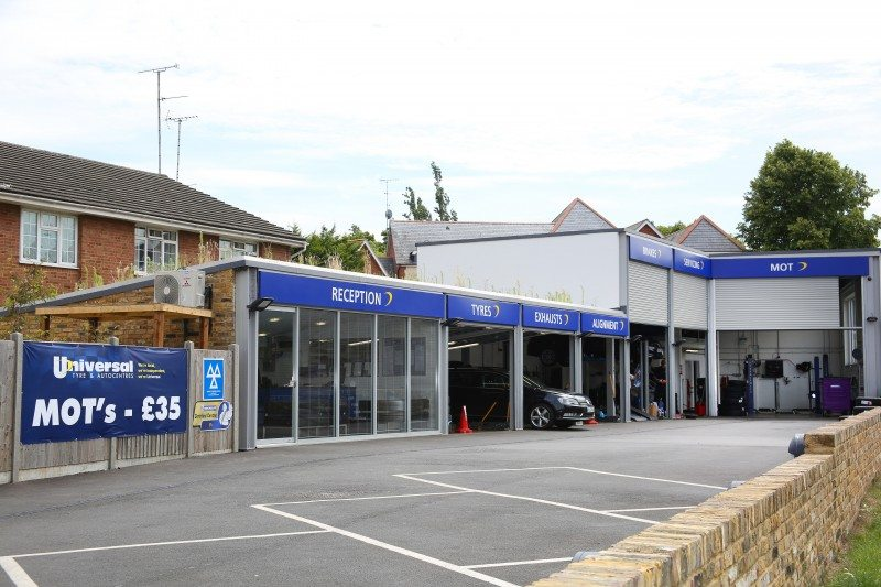 Universal Tyres' Chelmsford branch is this year's Tyre Retail Centre of the Year