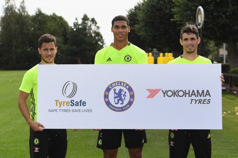 Chelsea FC signs up as an official TyreSafe supporter