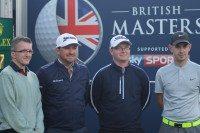 US Open winner pairs with Bridgestone Trophy champions in pro-am golf event