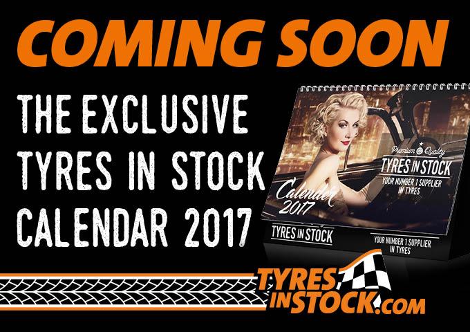 Tyres in Stock shoots 2017 calendar at Louwman Museum