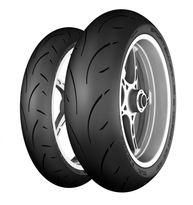 SportSmart 2 Max front (l) and rear tyres