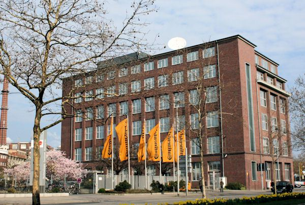 Continental's plans involve a 2020 move from its existing head office site (pictured) to a new building in Hannover's Hans Böckler Allee