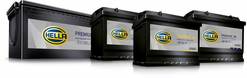 Hella's re-energised battery range consists of four models: Classic, Premium, Supreme and AGM.
