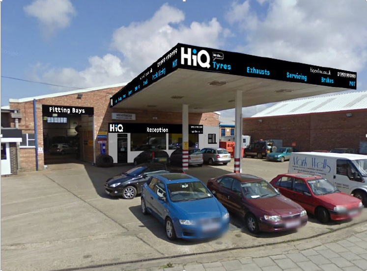 An impression from HiQ of the new Kings Lynn store frontage