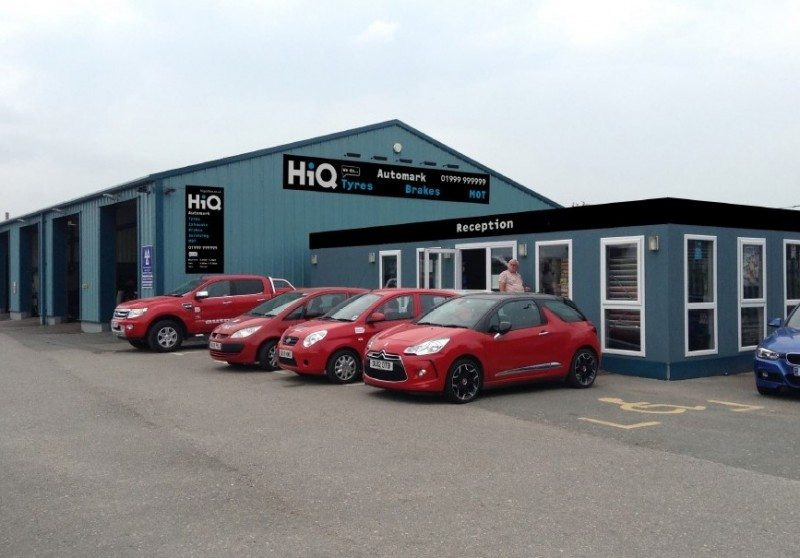 New signage with HiQ branding will be added to Automark's frontage